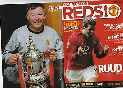 Manchester United -Come On You Reds -Edition Number1  2004/05