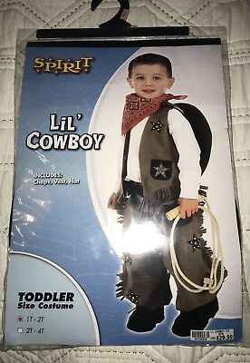 Lil Cowboy Toddler Costume Size 1T-2T SO CUTE