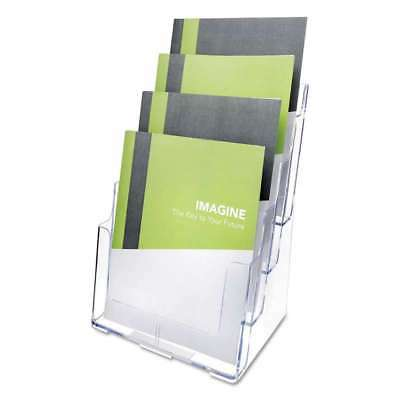 deflecto® Multi Compartment DocuHolder, Four Compartments, 9 3/8w 079916774411