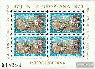 Romania block157 (complete issue) unmounted mint / never hinged 1979 INTEREUROPA