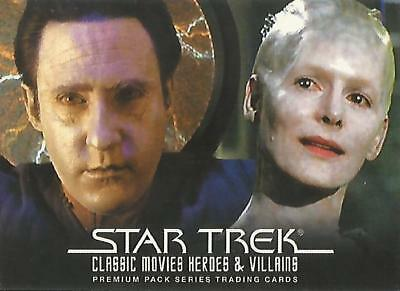 """Star Trek Movies Heroes & Villains - P4 """"Philly Non-Sport Show 2011"""" Promo Card"""