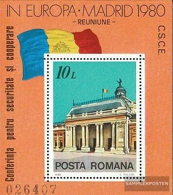Romania block174 (complete issue) unmounted mint / never hinged 1980 CSCE