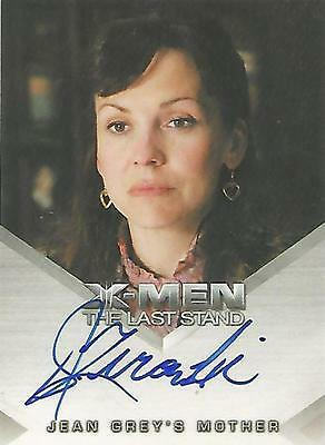 "X-Men 3 The Last Stand - Desiree Zurowski ""Jean Grey's Mother"" Autograph Card"