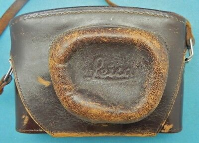 Leica Case for IIIG Body with Leicavit SYOOM  #1 ........... Very Rare !!