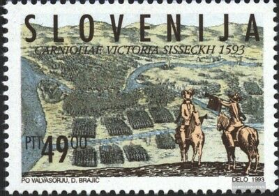 slovenia 58,59 (complete issue) unmounted mint / never hinged 1993 special stamp