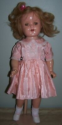 "22"" Ideal Composition Doll - Restorable Condition & Pretty Face"