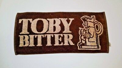 Toby Bitter Bar Towel Product Publicity 100% Cotton Made Lancashire England UK