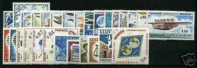 MONACO STAMP ANNEE COMPLETE 1964 : 28 TIMBRES NEUFS xx  LUXE R874