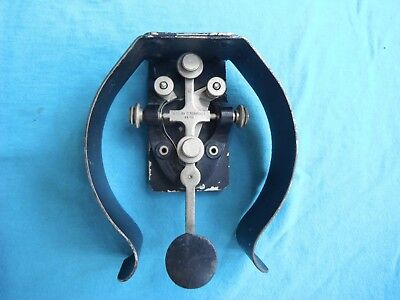 WWII US Army Signal Corps,  J-37 telegraph key for leg use