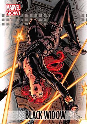 BLACK WIDOW / 2013 Marvel Now! (Upper Deck 2014) BASE Trading Card #14