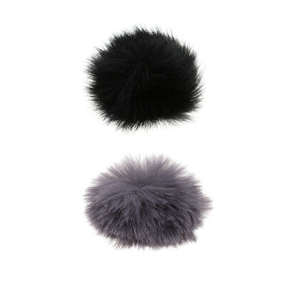 Fur Microphone Windscreen Windshield Muff Reduce Wind Noise Mic Cover