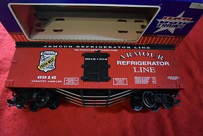"""Usa Trains Billboard Reefer """"armour """" ## Made In The Usa ## Boxed Exc Con"""