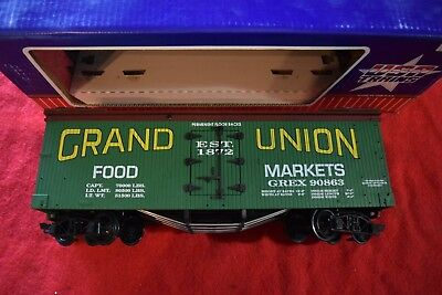 """Usa Trains Billboard Reefer """"grand Union"""" ## Made In The Usa ## Boxed Exc Con"""
