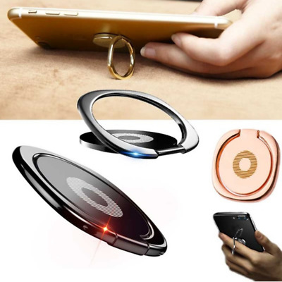 360° Finger Ring Magnetic Phone Holder Car Bracket Mount For Phone Universal Lot