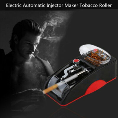 Electric Automatic Cigarette Rolling Machine Tobacco Injector Maker Roller USA