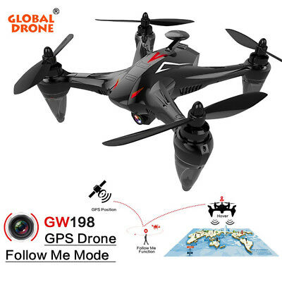 GW198 Wide-angle HD Camera 5G WIFI Follow Me Ray RC Quadcopter Brushless Motor