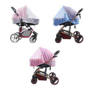 Baby Cart Mosquito Net Netting Elastic Adjustable Pram Mosquito Stroller Netting