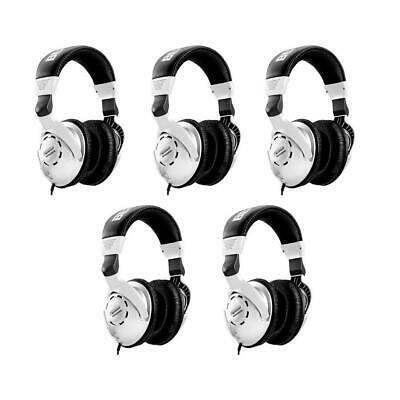 Behringer 5 Pack HPS3000 High-Performance Studio Headphones #HPS3000 5