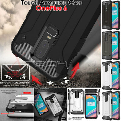 OnePlus 6 TOUGH ARMOURED Slim Fit Shock Proof Hard Protective Case Cover