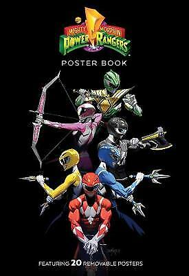 Mighty Morphin Power Rangers Poster Book, Campbell, Jamal