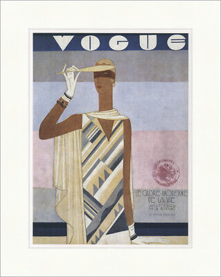 Cover of the magazine Vogue Frankreich 1929 Mode Kunstdruck Plakatwelt 795