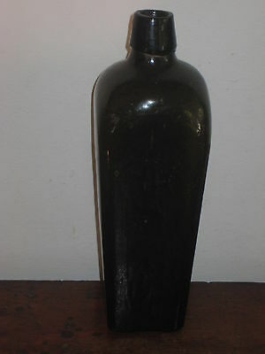 Old Glass Gin Bottle Mid To Late 19Th Century