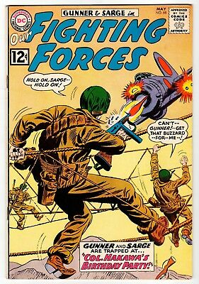 DC - OUR FIGHTING FORCES #68 - VG May 1962 Vintage Comic