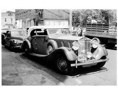 1936 ? Rolls Royce Phantom III Tourer Photo cb1283