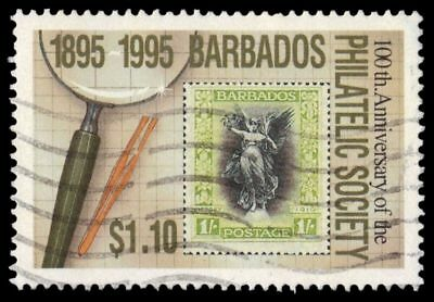 BARBADOS 911 (SG1068) - Barbados Philatelic Society 100th Anniversary (pf42448)