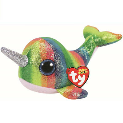 TY Beanie Boo Plush - Nori the Narwhal 15cm