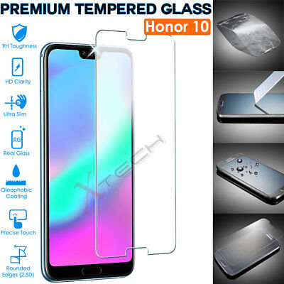 Genuine Premium TEMPERED GLASS Invisible Screen Protector Cover For Honor 10