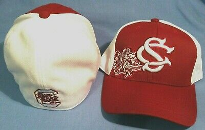 differently b1065 09251 University of South Carolina Gamecocks Trapped Top of the World Flex Fit Cap