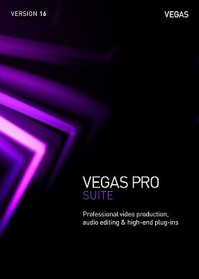 Vegas Pro 16 Suite Academic Upgrade Download Video Editing Software MAGIX *New*