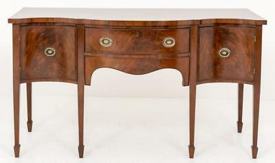 Regency Mahogany Sideboard Buffet Server Circa 1880