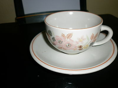 Boots Hedge Rose Range Cup & Saucer FREE POST UNITED KINGDOM
