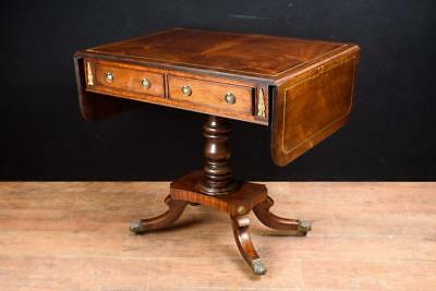 Regency Drop Leaf Sofa Table Circa 1890