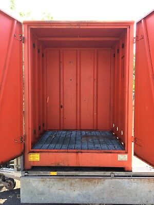 EMPTEEZY STEEL BUNDED Storage Container Chemical Store 97500