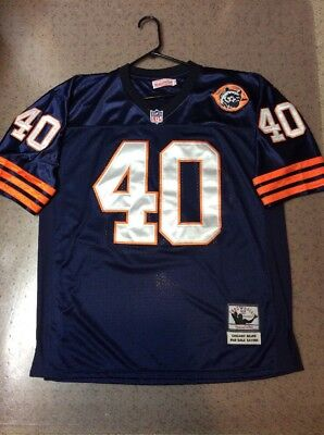 1e035389 Gale Sayers Chicago Bears Jersey Mitchell & Ness Sz 52 Football XL 1965 Sewn