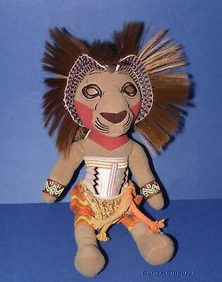 "THE LION KING Broadway Musical * Disney Simba Soft Toy * 11"" (28cm) Tall *"