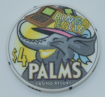 Palms $4 Casino Chip Las Vegas Nevada ChipCo. 2002