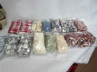 Lot of 14 Longaberger Basket Large Garters and One Extra Large Garter ~ New!