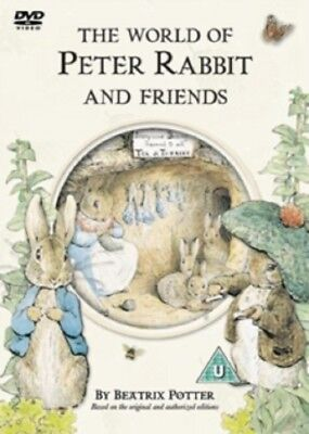 Beatrix Potter The World of Peter Rabbit and Friends New DVD Region 4
