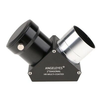 "2"" Eyepiece 1.25"" Telescope Erecting Prism Diagonal Zenith Mirror 90 Degree"