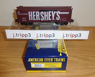 Lionel American Flyer 6-48823 Hershey's Chocolate Reefer Car Toy Train S Gauge