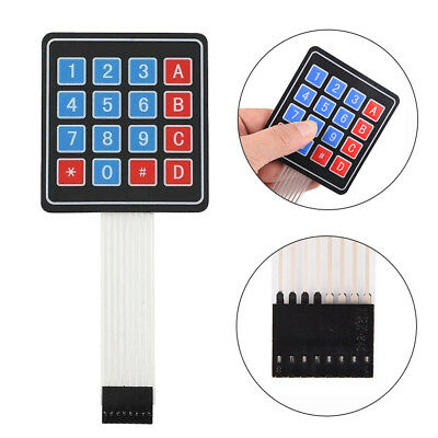 5PCS 4 x 4 Matrix Array 16 Key Membrane Switch Keypad Keyboard For Arduino Acces