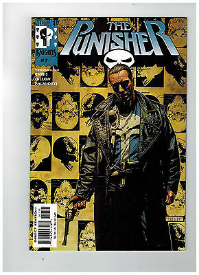 THE PUNISHER Vol 3 #7  1st Printing - Welcome Back, Frank   / 2000 Marvel Comics