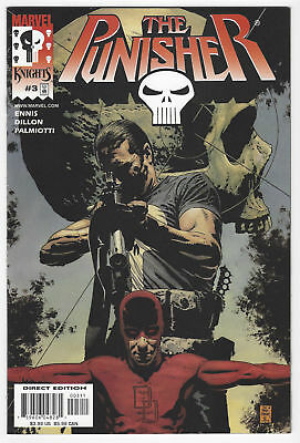 THE PUNISHER Vol 3 #3  1st Printing - Welcome Back, Frank   / 2000 Marvel Comics