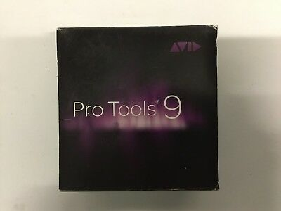 Avid Pro Tools 9 Software with all CDs, Installation Guide and Introduction Book
