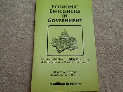 Economic Efficiencies in Government New Undeniable Truth Of  Cost Savings Manual