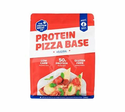 Protein Bread Co PIZZA BASE High Protein Low Carb & Fat Single Packet or Box
